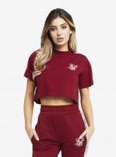 T-Shirt Siksilk Runner Cropped