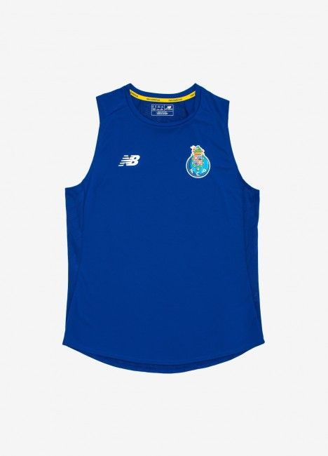 T-Shirt Sem Mangas New Balance Off-Pitch F.C. Porto 19/20
