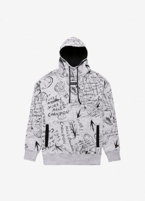 Camisola Champion Hooded Pattern