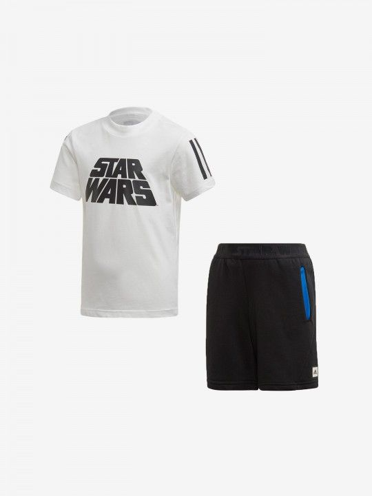 Adidas Star Wars T-shirt and Shorts Kit