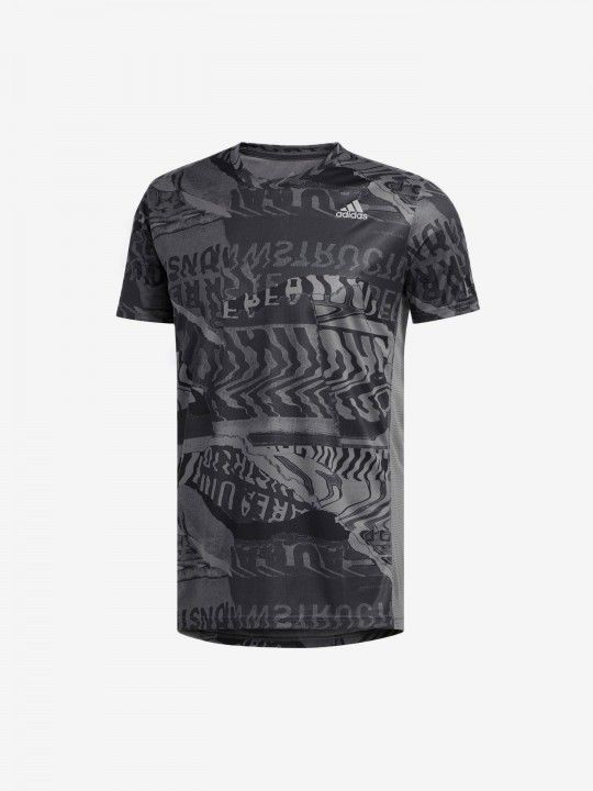 T-Shirt Adidas Own The Run Graphic