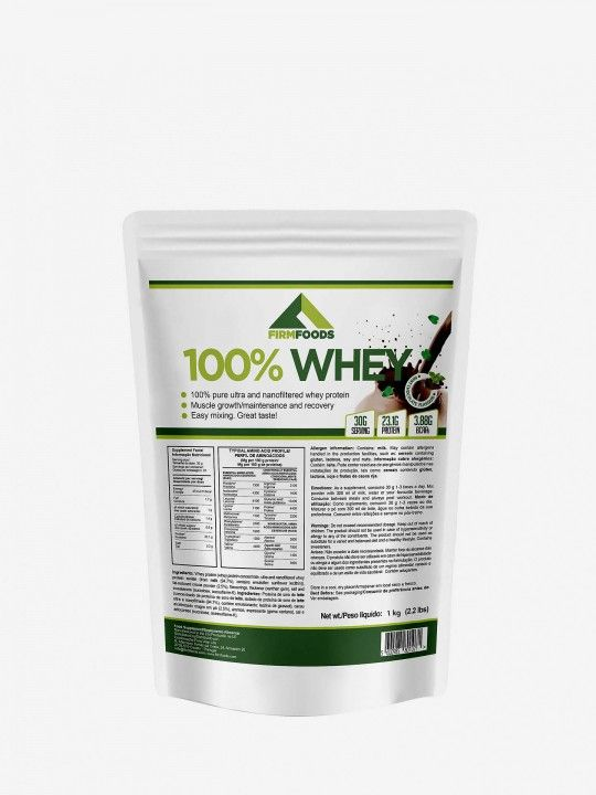 100% Whey de Menta e Chocolate Firm Foods