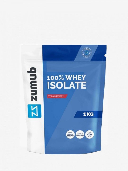 Whey Isolate de Morango Zumub