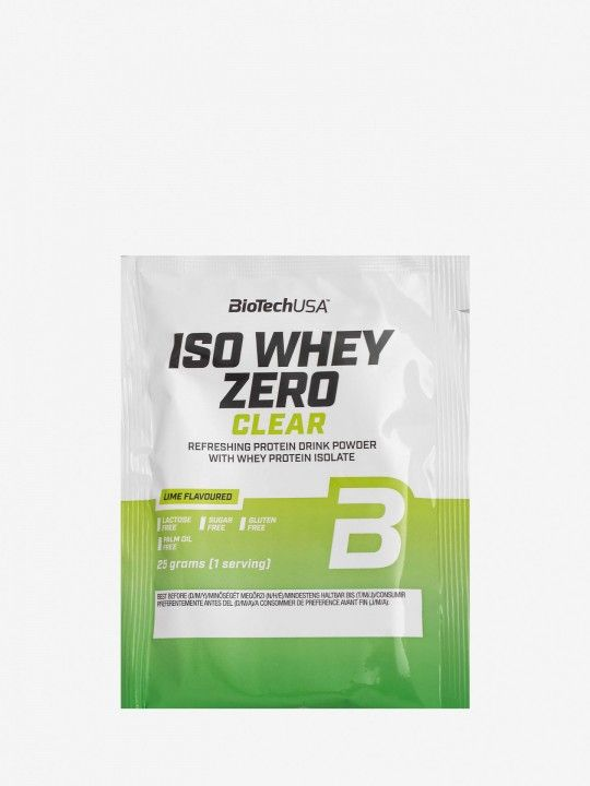 Biotech Lime Iso Whey Zero Clear