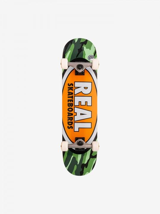 Skate Real Complete Team Oval Camo