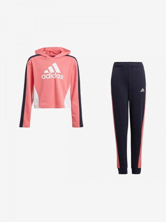 Adidas Color Cropped Tracksuit