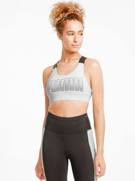 TOP PUMA MID IMPACT FEEL IT BRA PD