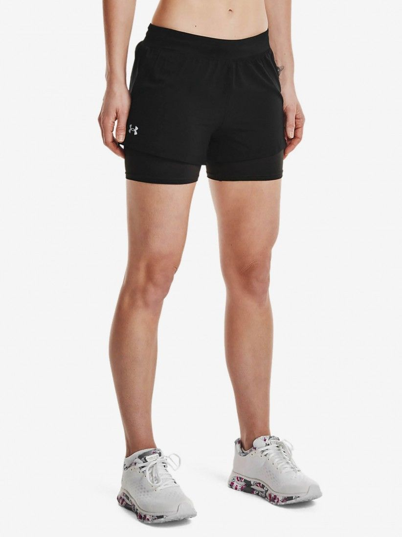 Under Armour Chill Run 2-In-1 Shorts