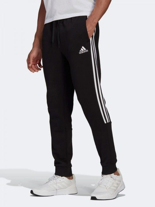 Adidas Essentials Tapered Cuff 3-Stripes Trousers